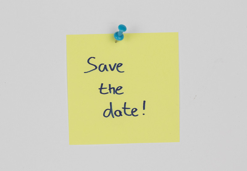 Photo: Save the date by Marco Verch under Creative Commons 2.0